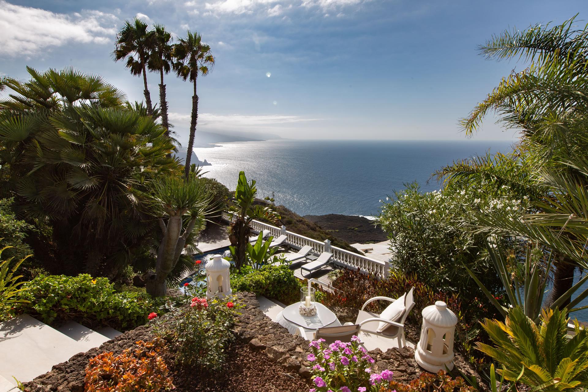 Casa Primavera im Jardin de la Paz: Apartment mit Blick auf das Meer
