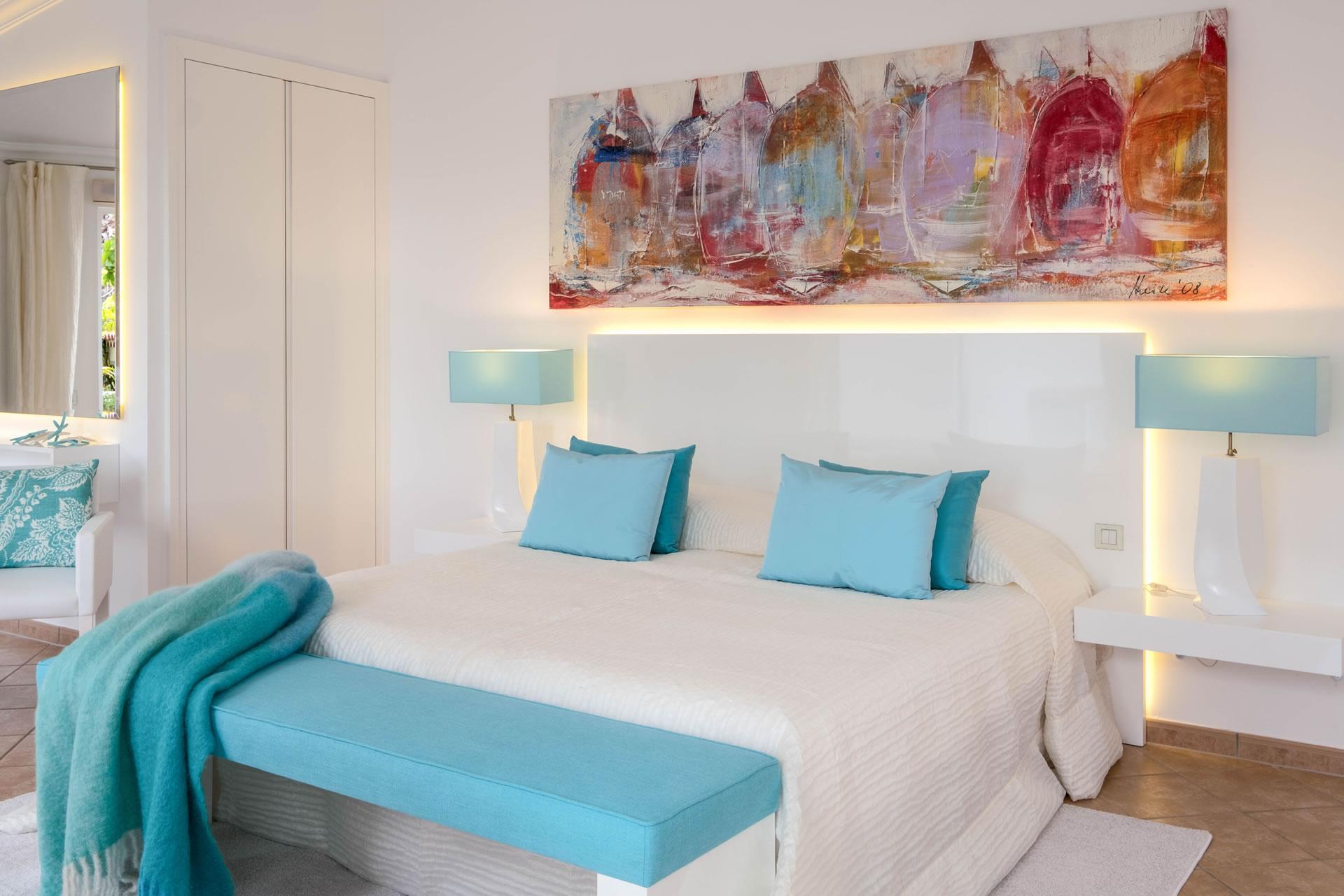 Casa San Marco At Jardin De La Paz Bedroom With Double Bed